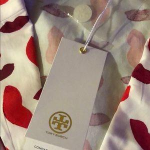 Tory Burch Intimates & Sleepwear - Tory Burch pajamas set XL box valentine new